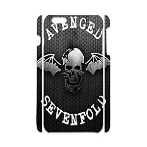 iPhone6 Plus Personalized Avenged Sevenfold Logo HD Pic Case Cover for iPhone6 Plus 5.5 (Laser Technology)