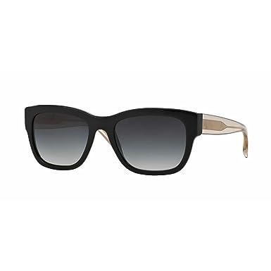 76609d805fba Burberry BE4188 Sunglasses 35078G-54 - Black Frame, Grey Gradient  BE4188-35078G-