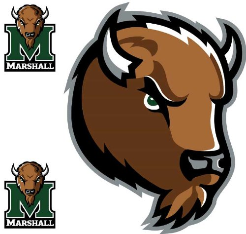UPC 646073477822, NCAA Marshall Thundering Herd 3 Large Wall Accent Murals Stickers