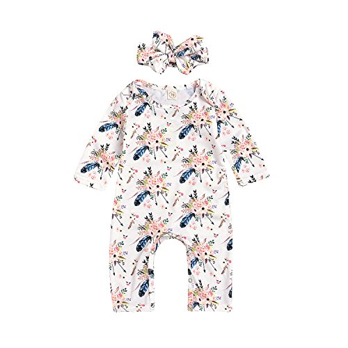 happy-town-baby-boy-girl-clothes-flower-print-long-sleeve-romper-bodysuit-with-headband-white-0-6-mo