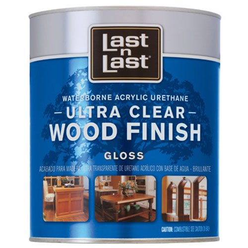Star Bronze 3766 Zip-Guard Urethane Wood Finish Water Based Interior Gloss Clear, 1 quart