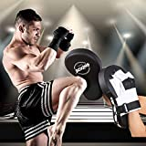 Valleycomfy Curved Boxing MMA Punching Mitts Extra