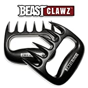 Amazon Lightning Deal 88% claimed: Pulled Pork Shredder Claws - MEAT SHREDDING FORKS - BBQ Grilling Accessories from Grill BEAST