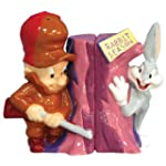 Westland Giftware Looney Tunes Magnetic Elmer Fudd and Bugs Bunny Salt and Pepper Shaker Set 3 3 4 Inch by Westland Giftware