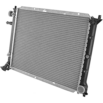 Radiator Assembly Aluminum Core Direct Fit for 98-03 Ford Escort ZX2 DOHC 2.0L