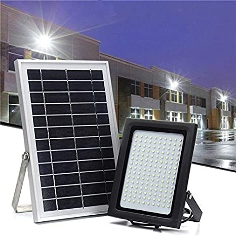 Global 150 LED Solar Movimiento de luz de inundación Movimiento Sensor Control de luz de pared