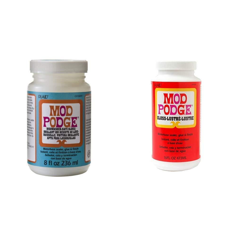 Mod Podge 8 oz Dishwasher Safe Gloss,