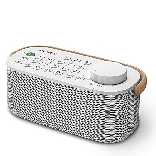 Sony SRS-LSR200 Draagbare Draadloze TV Luidspreker, Wit, 11.7 x 20.4 x 17.3 cm
