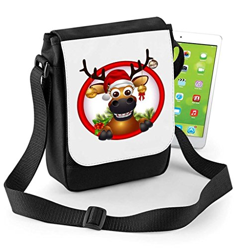 The Ipad Red Compatible Tablet Mini Bag Digital or Rudolph Reporter Reindeer Nosed AdHRqwHSx