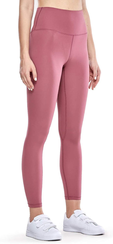 25 Inches CRZ YOGA Womens Naked Feeling II High Waist Yoga Pants Gym Workout Leggings with Hidden Pocket