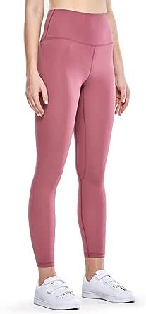 CRZ YOGA Women's Naked Feeling II High Waist Yoga Leggings Workout Pants with Pocket -25 Inches