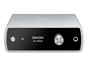 Denon USB-DAC/amplificador de auriculares Plata da-300usbs