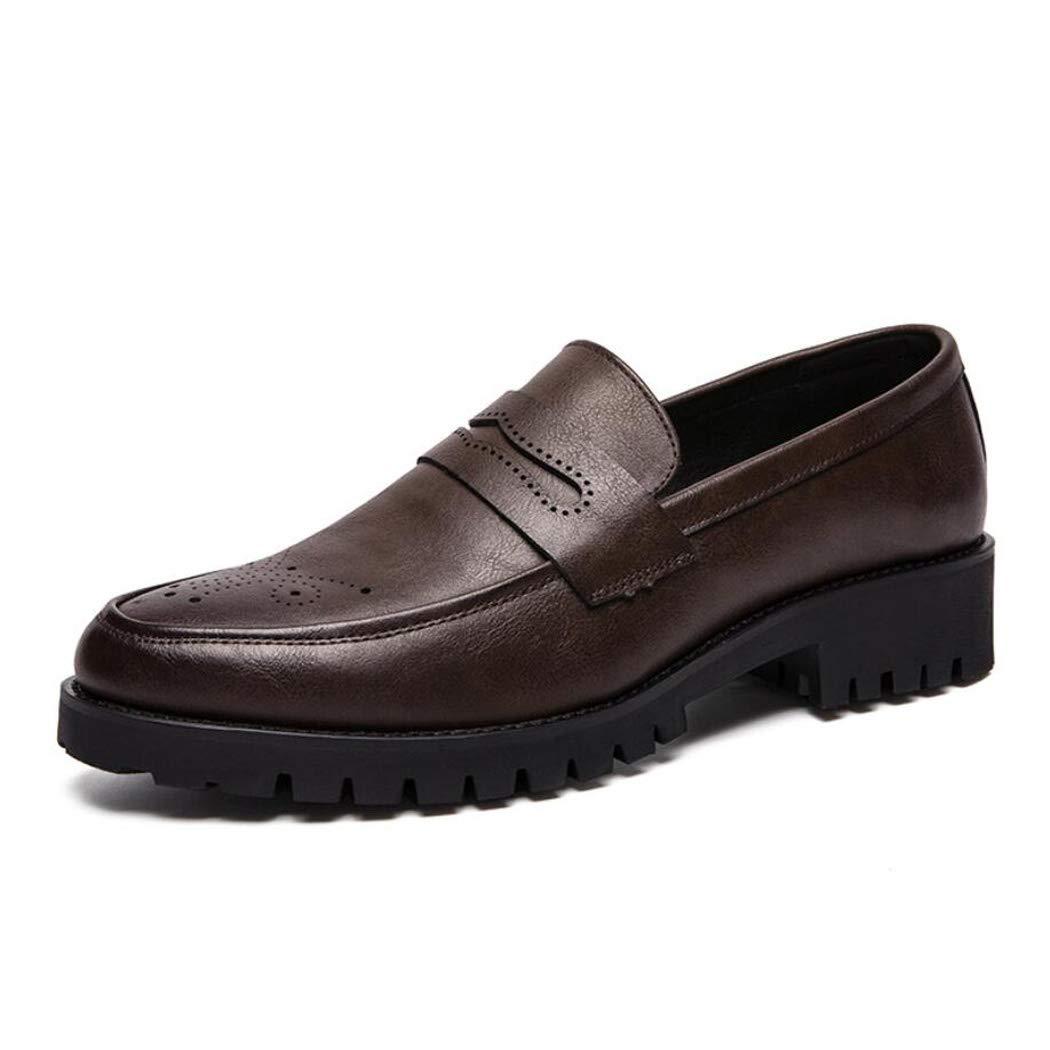 Zxcer Herren Business-Schuhe Herren-Sets von Füßen Mode Schuhe Barber Casual Schuhe schwarz braun