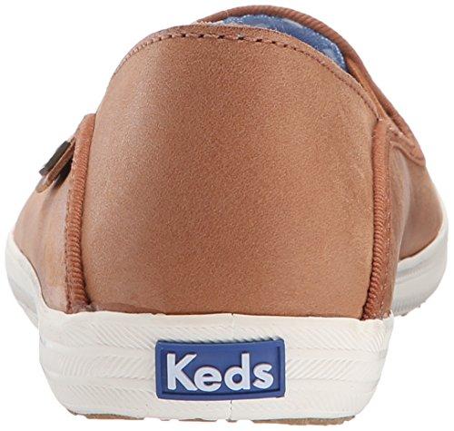 Keds Dames Crashback Leer Mode Sneaker Cognac