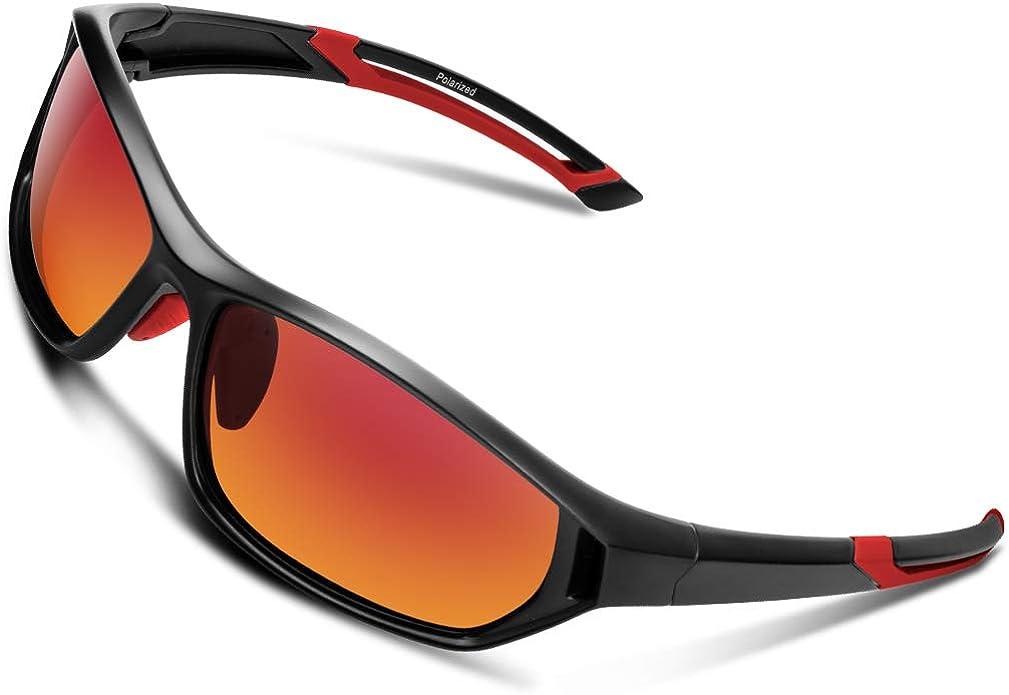 : Polarized Sunglasses for Men Women Youth Sports