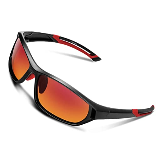 e295c2ec5f Polarized Sunglasses for Men Women Youth Sports Fishing Cycling Baseball  Running Motorcycles Golf Tac lens (