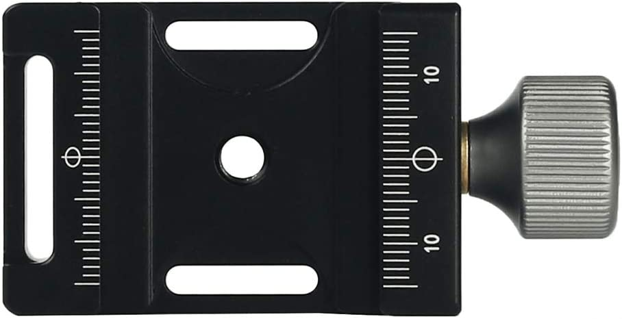 Yunchenghe Aluminum DM-55 Quick Release Plate Clamp with Arca-Swiss Compatible RRS ARCA-Swiss Kirk Wimberley Markins.
