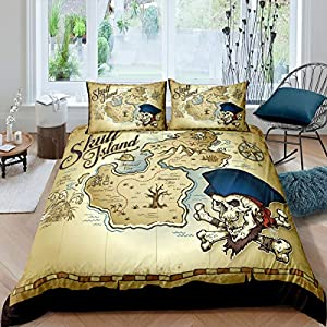 5130JbybE4L._SS300_ Pirate Bedding Sets and Pirate Comforter Sets