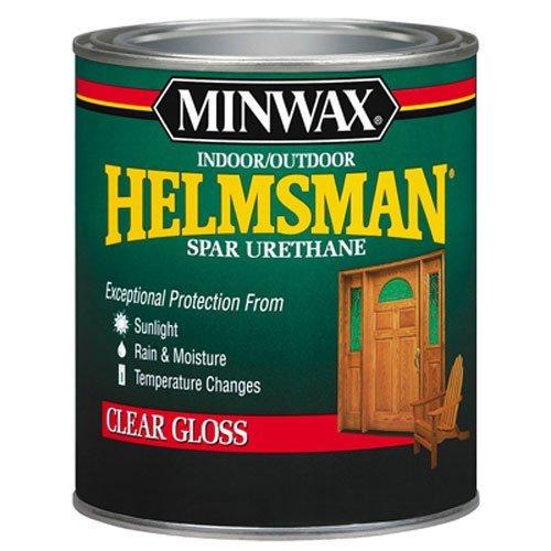 Minwax 43210000 Helmsman Spar Urethane Clear, pint, Gloss (Outdoor Polyurethane)
