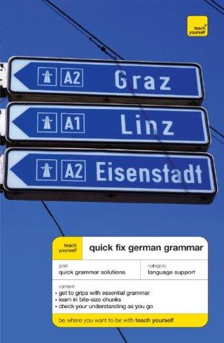 Teach Yourself Quick-Fix German Grammar (Teach Yourself Language)
