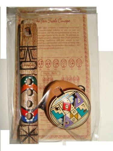 One Ocarina 2  One Flute 5 Combo Pack Set Peru Fair Trade Hand Made