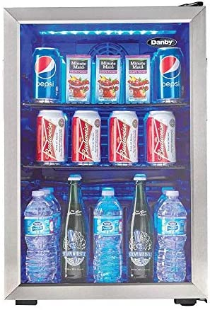Danby DBC026A1BSSDB 95 Can Beverage Refr