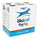 ökocat Natural Wood Cat Litter, 12-Pound, Clumping