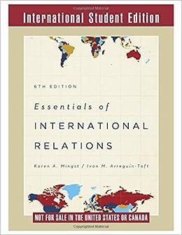 Essentials of International Relations: Amazon co uk: Karen A