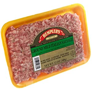 Frozen, Hempler Bulk Mild Italian Sausage, 12 oz   AmazonFresh