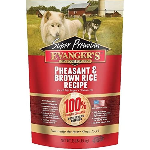 EVANGERS EVANG SP P/BRRC/DCK DOG, 4.4 Pounds well-wreapped