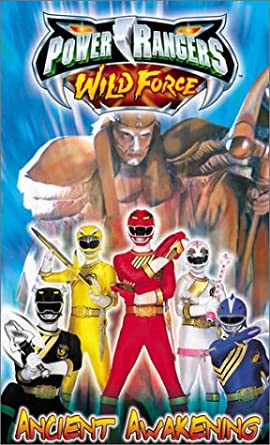 Amazon com: Power Rangers Wild Force - Ancient Awakening [VHS