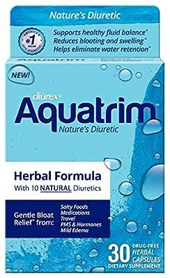 Diurex Aquatrim Herbal Capsules - 30 ct, Pack of 3