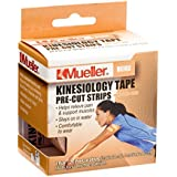 Mueller Sports Medicine Kinesiology Tape Pre-Cut Strips...