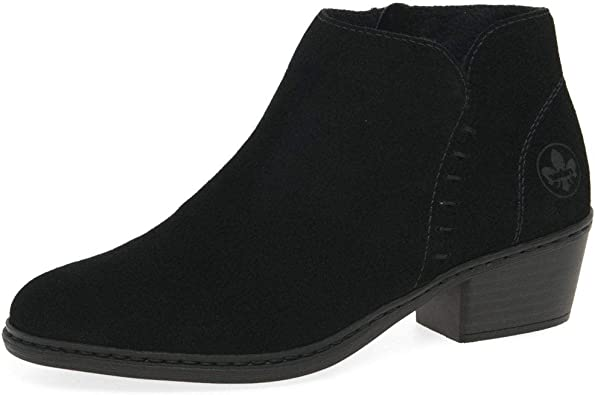 Rieker Bronte Womens Ankle Boots: : Chaussures et Sacs