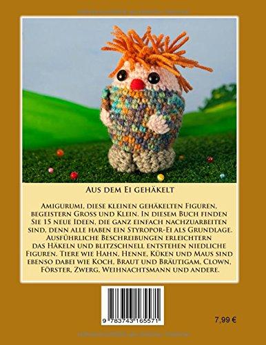 Aus Dem Ei Gehäkelt 15 Lustige Häkelfiguren Amazonde Elke Selke