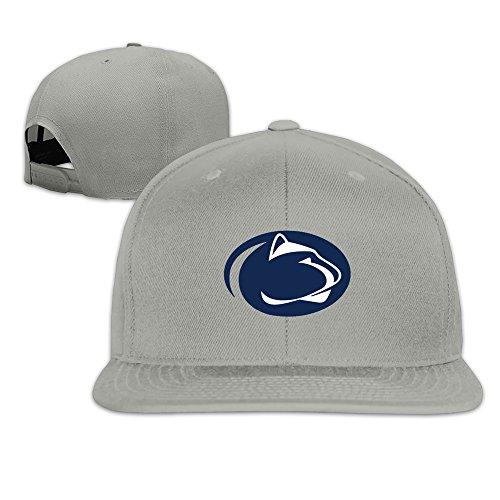 Fashion Unisex Penn State Nittany Lions Logo Flat Peak Snapback Baseball Cap - Flagship Lincoln