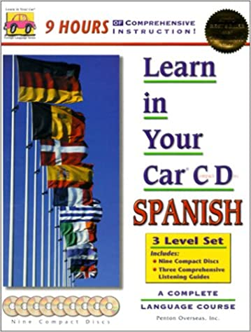 6 Cassettes /& 3 Booklets Learn in Your Car Spanish Three Level Set