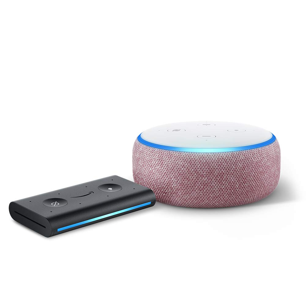 Echo Dot (3rd Gen) Plum with Echo Auto