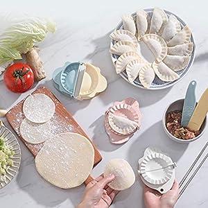 RIBITENS Home Kitchen Useful Dumplings Mold Filling Spoon Set Easy Making Dumplings Tool Kitchen Supplies