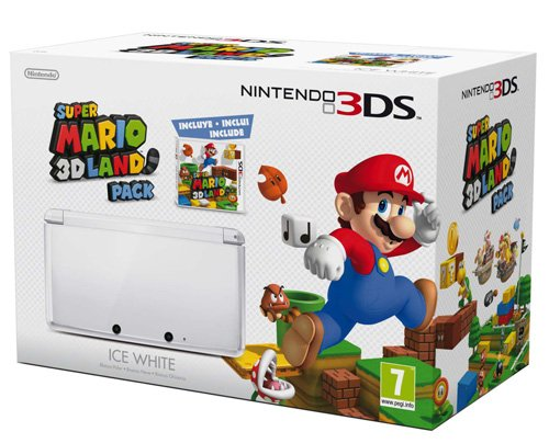 Nintendo 3DS - Color Blanco - Incluye Super Mario 3D Land ...