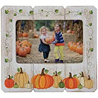 Neil Enterprises, Inc Fall Picture Frame (Pumpkin, 6