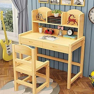 Mesa y sillas para niños Escritorio de madera dormitorio del ...