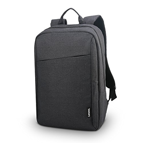 Lenovo Laptop Backpack B210, fits for 15.6-Inch Laptop and Tablet, Sleek for Travel, Durable, Water-Repellent Fabric, Clean Design, Business Casual or College, for Men Women Students, ()