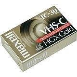 Maxell VHS-C HGX-Gold TC-30 7 Pack