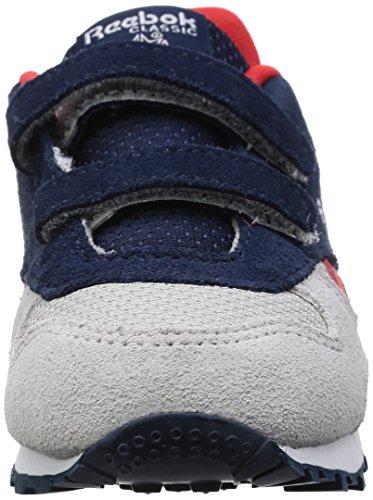 Reebok Bd2440, Zapatillas de Trail Running para Niños Azul (Collegiate Navy / Skull Grey / Primal Red / Wh)