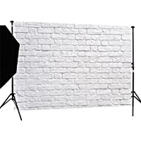 DULUDA 7X5FT White Brick Wall Pictorial cloth Customized photography Backdrop Background studio prop WXL27