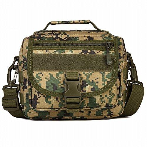 deportes de colores camuflaje Digital bolso al impermeable material Kai bandolera 6 libre bolso Hung militares táctico aire Jungle entusiastas hombro 1qwtSvE