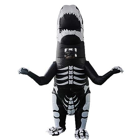 Ninbo - Disfraz de dinosaurio hinchable para niños y adultos ...