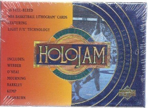 1994 Upper Deck NBA Holojam Lithogram Cards Trading Card Set 36 Count by Upper Deck