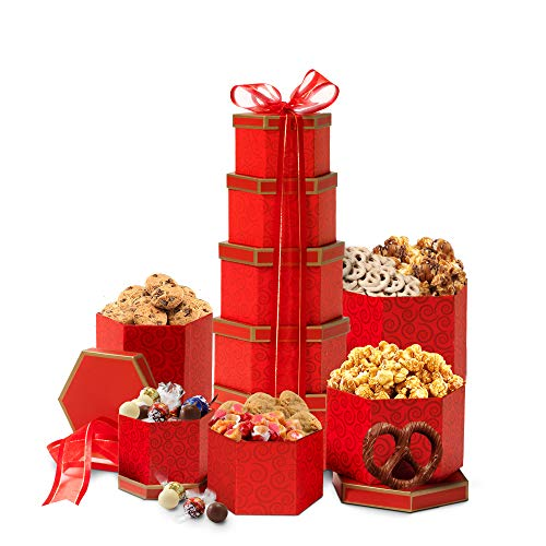Broadway Basketeers Chocolate and Sweets Gift Tower